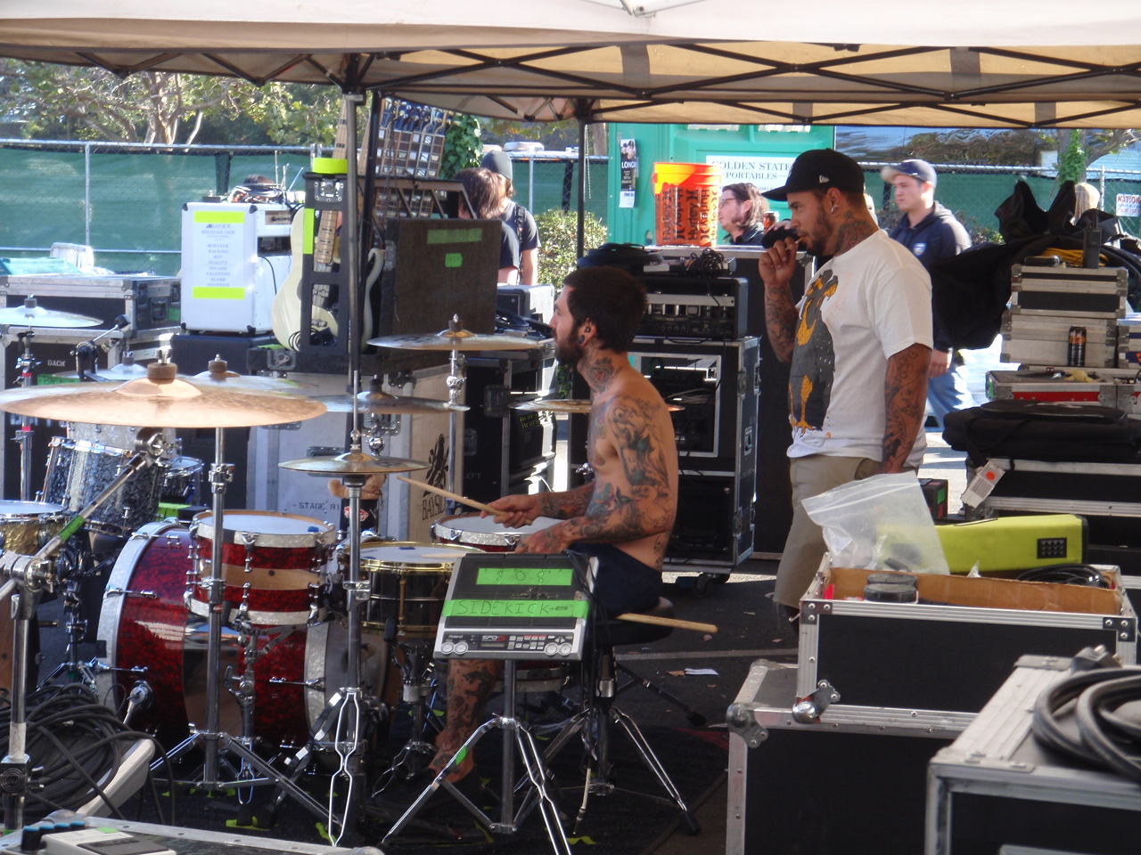 CU Backstage: New Story >The Vans Warped tour